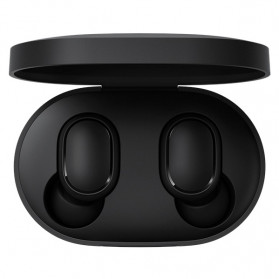 Redmi AirDots TWS Bluetooth 5.0 Earphone (Replika 1:1) - Black - 1