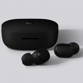 Redmi AirDots TWS Bluetooth 5.0 Earphone (Replika 1:1) - Black - 4