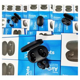 Redmi AirDots TWS Bluetooth 5.0 Earphone (Replika 1:1) - Black - 8