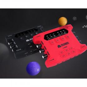 ALLOYSEED Audio USB External Soundcard Live Broadcast Microphone Headset - K108X - Black - 3