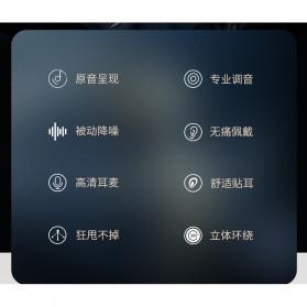 Roreta HiFi Earphone Elegant Premium Design with Mic - A1 - Black - 5