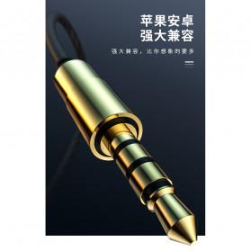 Roreta HiFi Earphone Elegant Premium Design with Mic - A1 - Black - 6