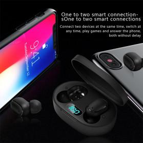 Robotsky TWS Sport Earphone True Wireless Bluetooth 5.0 with Charging Dock - A6L - Black - 4
