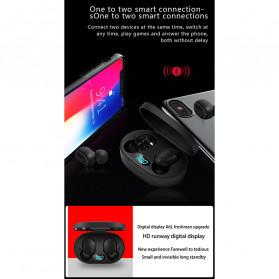Robotsky TWS Sport Earphone True Wireless Bluetooth 5.0 with Charging Dock - A6L - Black - 6