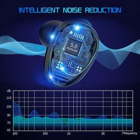 Robotsky TWS Sport Earphone True Wireless Bluetooth 5.0 with Powerbank Charging Dock 3600mAh - M7 - Black - 7