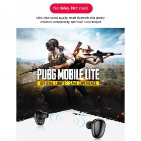 Robotsky TWS Sport Earphone True Wireless Bluetooth 5.0 with Powerbank Charging Dock 3600mAh - X7 - Black - 11