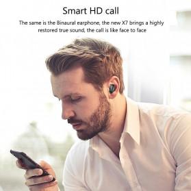 Robotsky TWS Sport Earphone True Wireless Bluetooth 5.0 with Powerbank Charging Dock 3600mAh - X7 - Black - 3