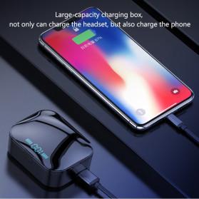 Robotsky TWS Sport Earphone True Wireless Bluetooth 5.0 with Powerbank Charging Dock 3600mAh - X7 - Black - 6