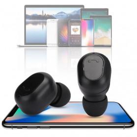 ZEBRA TWS Sport Earphone True Wireless Bluetooth 5.0 with Powerbank Charging Dock 2000mAh - M8 - Black - 4