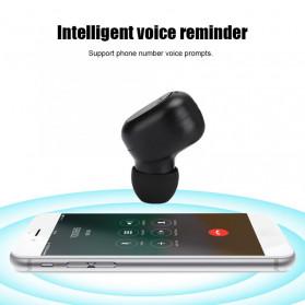 ZEBRA TWS Sport Earphone True Wireless Bluetooth 5.0 with Powerbank Charging Dock 2000mAh - M8 - Black - 8
