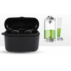 ZEBRA TWS Sport Earphone True Wireless Bluetooth 5.0 with Powerbank Charging Dock 2000mAh - M8 - Black - 9