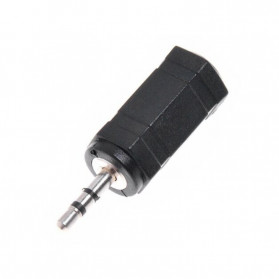Overfly Adapter Konverter Audio AUX 2.5mm to 3.5mm - RCX-79 - Black - 2