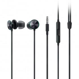 OPPO O-Fresh HiFi Earphone Sporty Design with Mic - MH151 (Replika 1:1) - Black