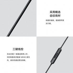 OPPO O-Fresh HiFi Earphone Sporty Design with Mic - MH151 (Replika 1:1) - White - 3