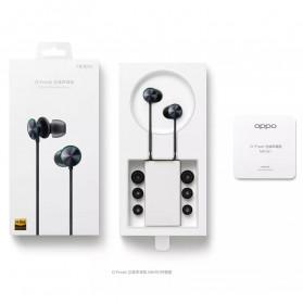 OPPO O-Fresh HiFi Earphone Sporty Design with Mic - MH151 (Replika 1:1) - White - 5