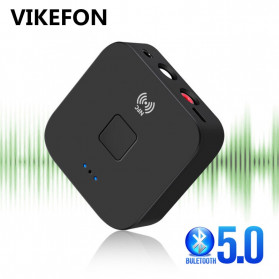 VIKEFON Music NFC Bluetooth Receiver 5.0 - BLS-B11 - Black - 1