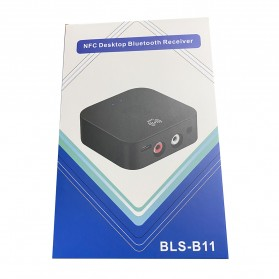VIKEFON Music NFC Bluetooth Receiver 5.0 - BLS-B11 - Black - 9