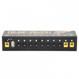 Caline Power Supply Pedal Efek Gitar Multi Channel 10 Output - CP-04 - 6