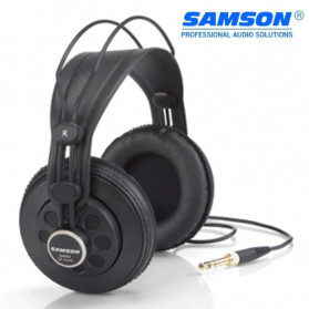 SAMSON Professional Monitoring Headphone Headset Semi Open Back - SR850 - Black
