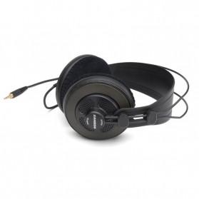 SAMSON Professional Monitoring Headphone Headset Semi Open Back - SR850 - Black - 3