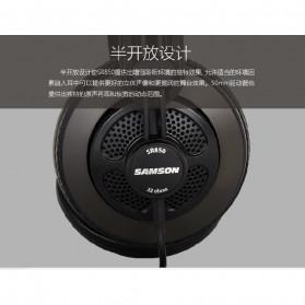 SAMSON Professional Monitoring Headphone Headset Semi Open Back - SR850 - Black - 4