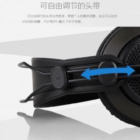 SAMSON Professional Monitoring Headphone Headset Semi Open Back - SR850 - Black - 7
