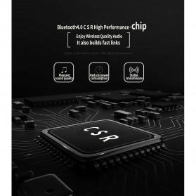 NISHEN Wireless Bluetooth Headphone Foldable with Microphone - SN-P18 - Black - 10
