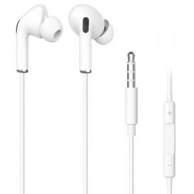 Centechia New Airpods III  In-ear Stereo Earphone 3.5mm with Microphone - White
