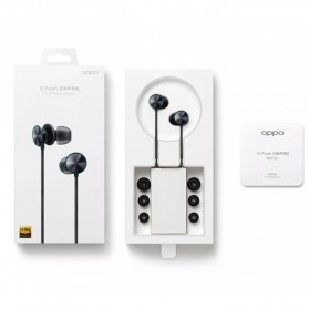 OPPO O-Fresh HiFi Earphone Sporty Design USB Type-C with Mic - MH153 (Replika 1:1) - Black - 9