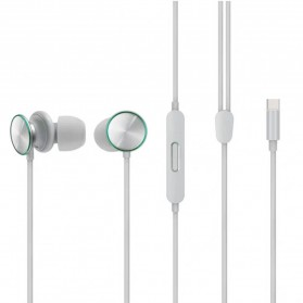 OPPO O-Fresh HiFi Earphone Sporty Design USB Type-C with Mic - MH153 (Replika 1:1) - White