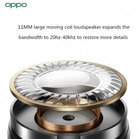 OPPO O-Fresh HiFi Earphone Sporty Design USB Type-C with Mic - MH153 (Replika 1:1) - White - 6