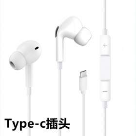 Centechia New Airpods III  In-ear Stereo Earphone USB Type C with Microphone - White - 3