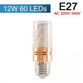 Green EyeBohlam LED Corn Light Bulb E27 12W 60 LED SMD2835 Cold White - E262 - White