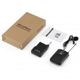 KEPHE UHF Wireless Lavalier Lapel Microphone System Podcast Live - MC0001 - Black - 6
