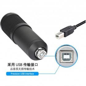 SZKOSTON Microphone Condenser USB for Computer Karaoke Mikrofon - BM-800 - Black - 2