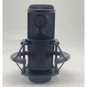Magideal Live Microphone Condenser with Shock Proof Mount - PMP-800 - Black