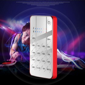 XMOVE Audio USB External Soundcard Live Broadcast Audio - Q10 - Black - 6