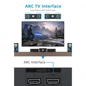 ALLOYSEED Konverter Audio DAC HDMI ARC Coaxial Toslink ke 3.5mm AUX RCA - AL192 - Black - 2