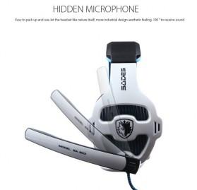 Sades Gaming Headphone Headset LED Virtual 7.1 with Mic - SA-903 - Blue - 11