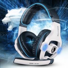Sades Gaming Headphone Headset LED Virtual 7.1 with Mic - SA-903 - Blue - 6