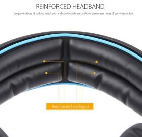 Sades Gaming Headphone Headset LED Virtual 7.1 with Mic - SA-903 - Blue - 7