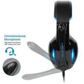 Sades Gaming Headphone Headset LED Virtual 7.1 with Mic - SA-902 - Blue - 3