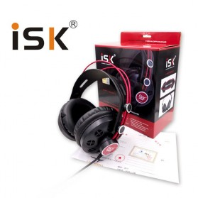 ISK Monitoring Headphone Studio Pro DJ Semi-open - HP-580 - Black