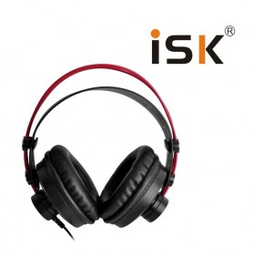 ISK Monitoring Headphone Studio Pro DJ Semi-open - HP-580 - Black - 3