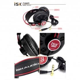ISK Monitoring Headphone Studio Pro DJ Semi-open - HP-580 - Black - 7