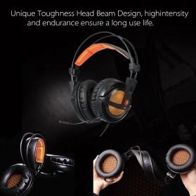 Sades Gaming Headphone Headset LED Virtual 7.1 with Mic - A6 - Black - 7