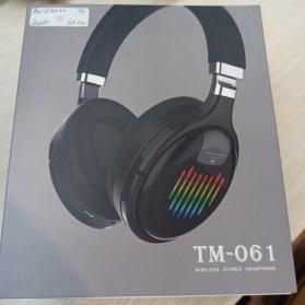 HANXI Wireless Headphone Bluetooth 5.0 3D Stereo with Mic - TM-061 - Black - 12