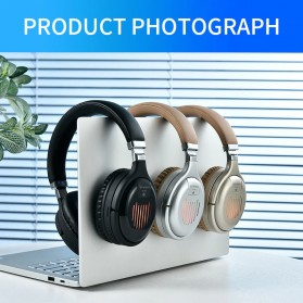 HANXI Wireless Headphone Bluetooth 5.0 3D Stereo with Mic - TM-061 - Black - 2