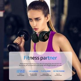 HANXI Wireless Headphone Bluetooth 5.0 3D Stereo with Mic - TM-061 - Black - 6