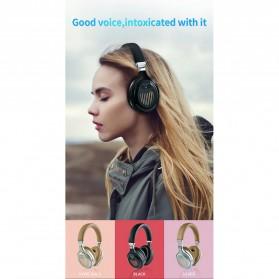 HANXI Wireless Headphone Bluetooth 5.0 3D Stereo with Mic - TM-061 - Black - 9